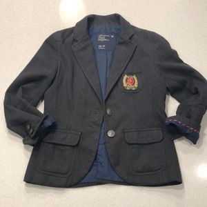 American Eagle Outfitters Oxford Blazer